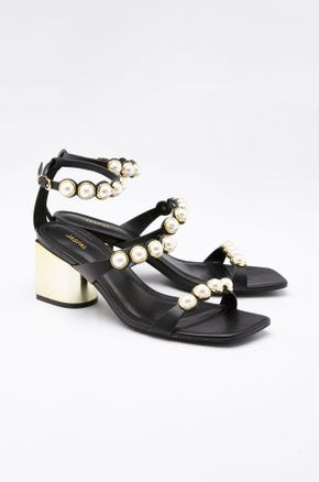 Pearl Ankle Strap Heels