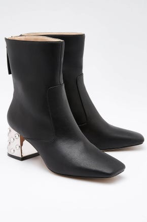 Crystal Ankle Boots