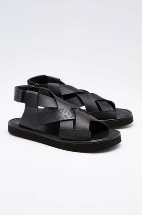 Monogram Strap Sandals
