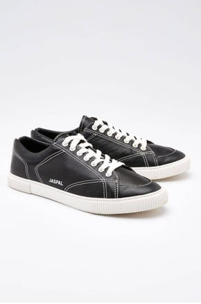 Stitched Leather Sneakers