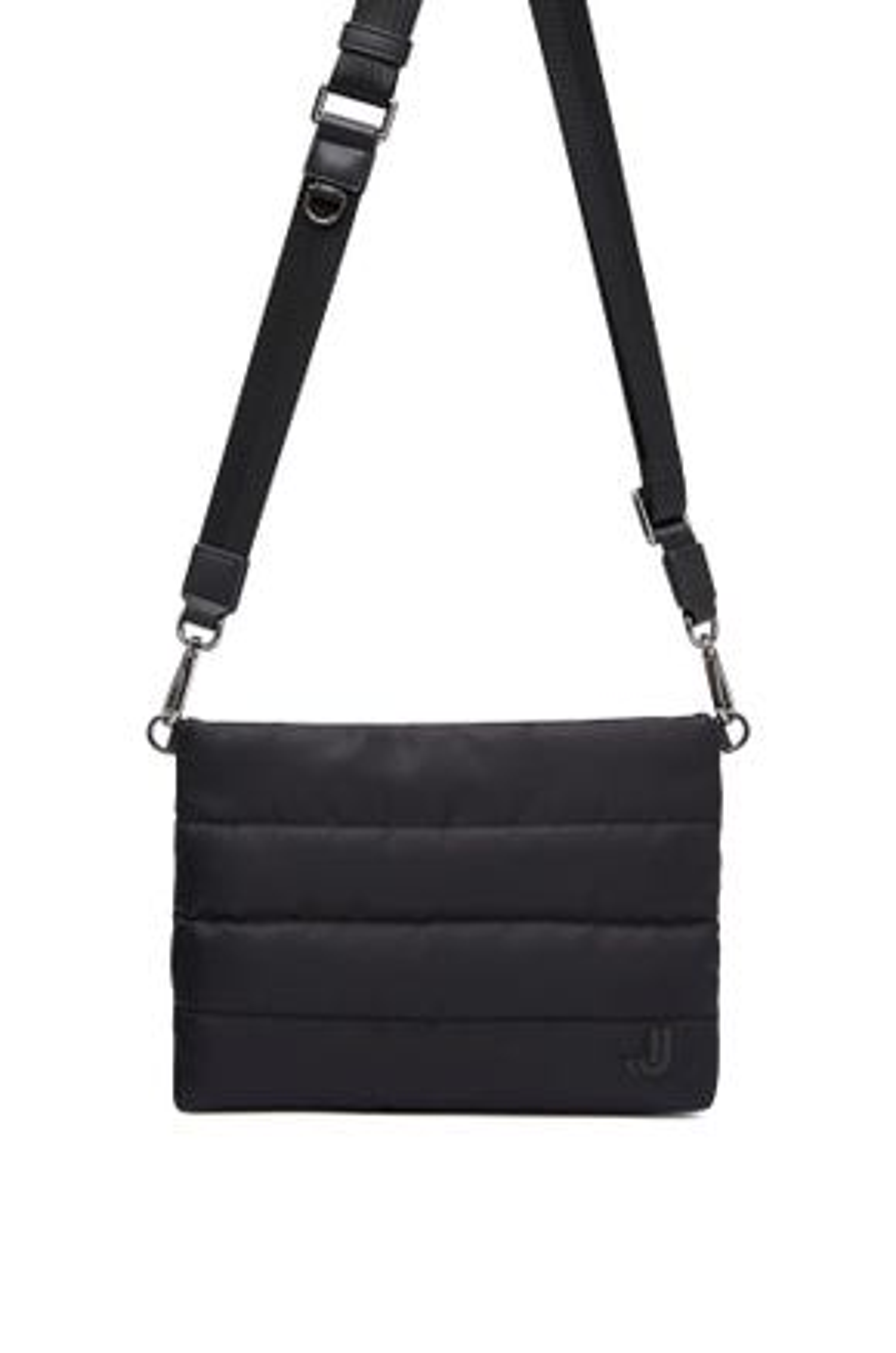 Quilted Messenger Bag