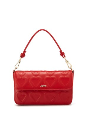 Quilted Heart Bag