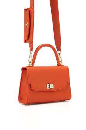 Pouch Strap Crossbody Bag