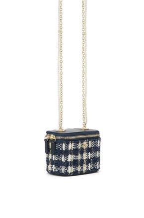 Mini Tweed Vanity Bag