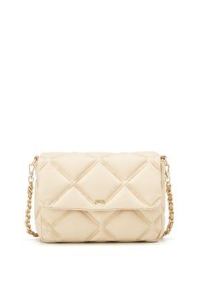Quilted Denim Crossbody Bag