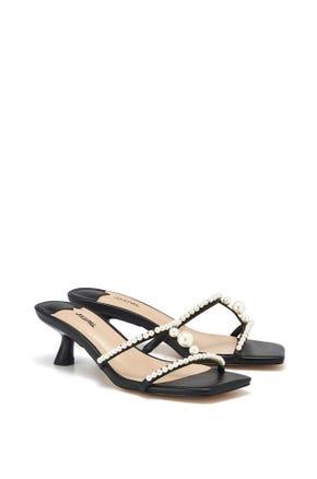 Pearl Mid Heel Sandals