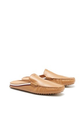 Backless Mule Loafers