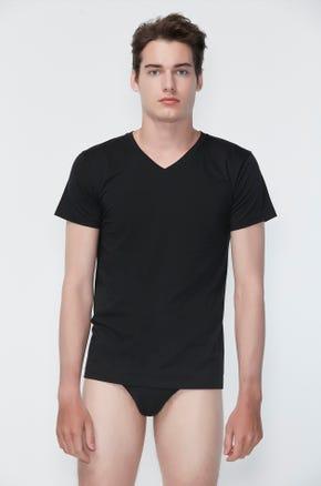 Supima Cotton V-Neck T-Shirt